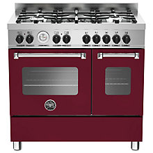 Buy Bertazzoni MAS905MFED Twin Dual Fuel Range Cooker Online at johnlewis.com