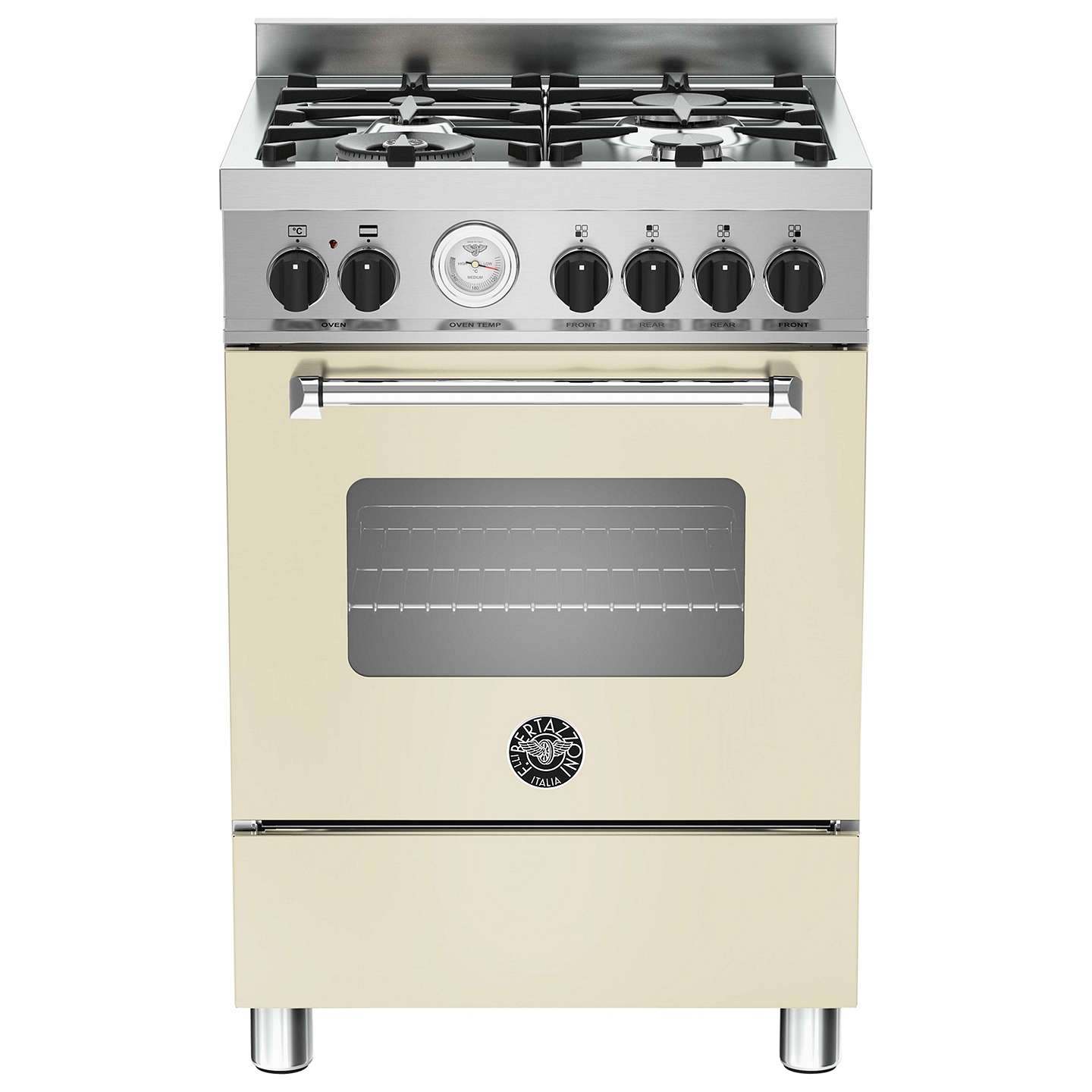 BuyBertazzoni MAS604MFESCRE Cooker, Cream Online at johnlewis.com