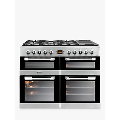 Image of LEISURE CS100F520X Cuisinemaster 100cm Dual Fuel Range Cooker - Stainless Steel