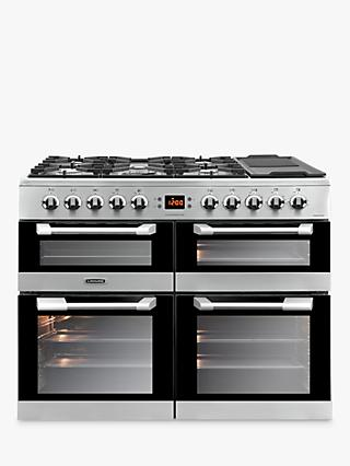 Leisure CS100F520X Cuisinemaster Freestanding Dual Fuel Range Cooker, Stainless Steel