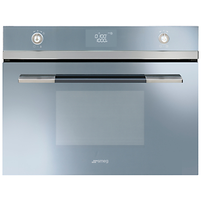 Smeg SF4120MCS Integrated Combination Microwave Oven