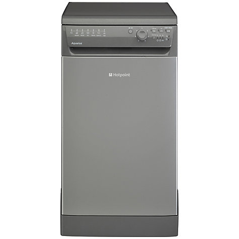 buy hotpoint sial11010g freestanding slimline dishwasher. Black Bedroom Furniture Sets. Home Design Ideas