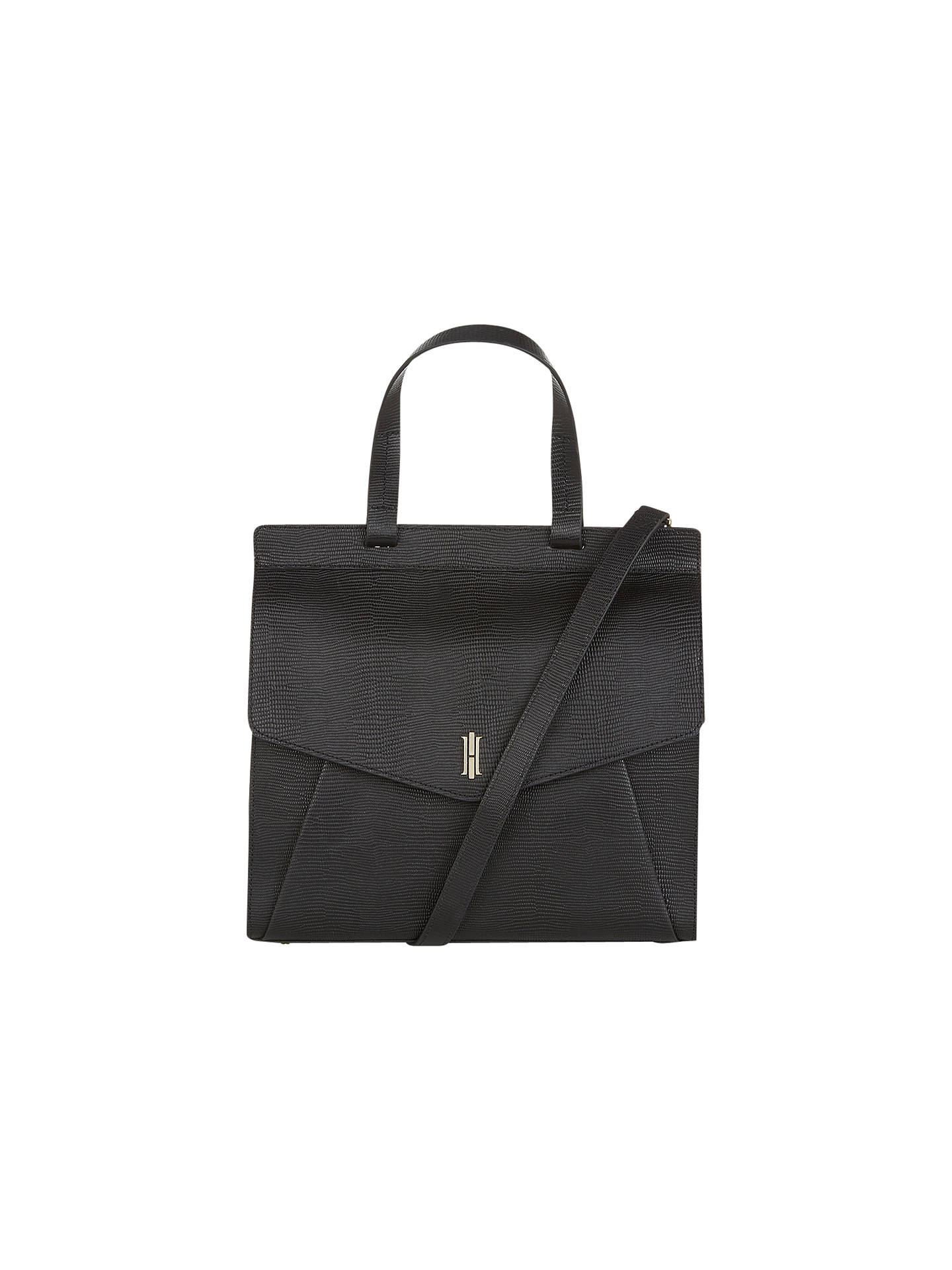282be29bfcc0 Hobbs Alderley Leather Grab Bag at John Lewis   Partners