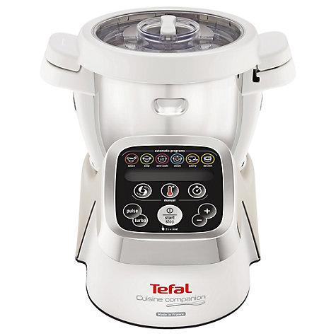 buy tefal cuisine companion cooking food processor white john lewis. Black Bedroom Furniture Sets. Home Design Ideas