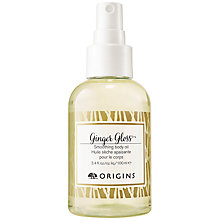 Buy Origins Ginger Gloss Smoothing Body Oil, 100ml Online at johnlewis.com