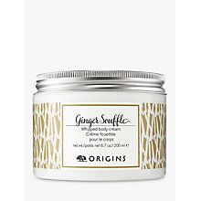Buy Origins Ginger Soufflé Body Cream, 200ml Online at johnlewis.com