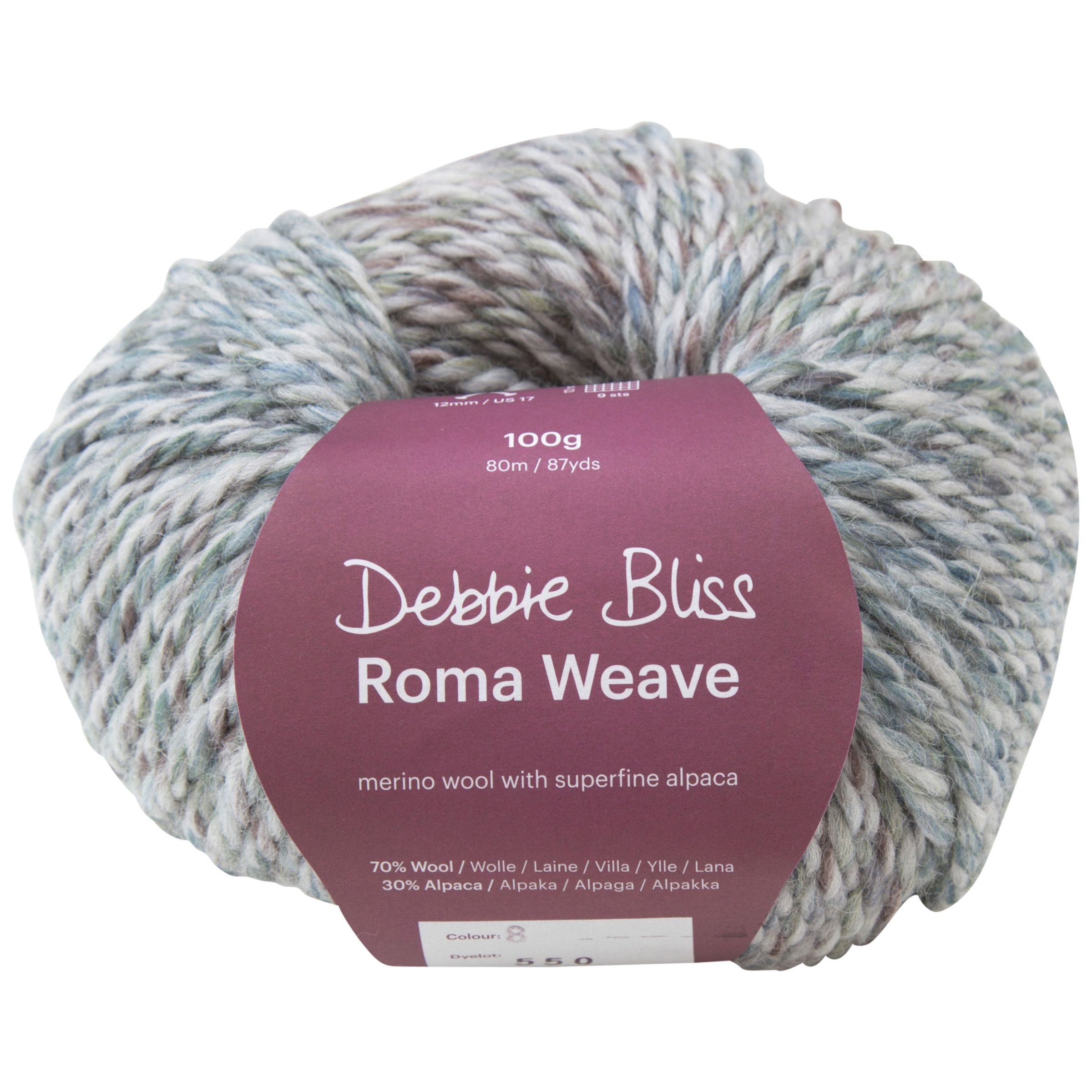 Debbie Bliss Roma Super Chunky Merino Wool and Apaca Yarn