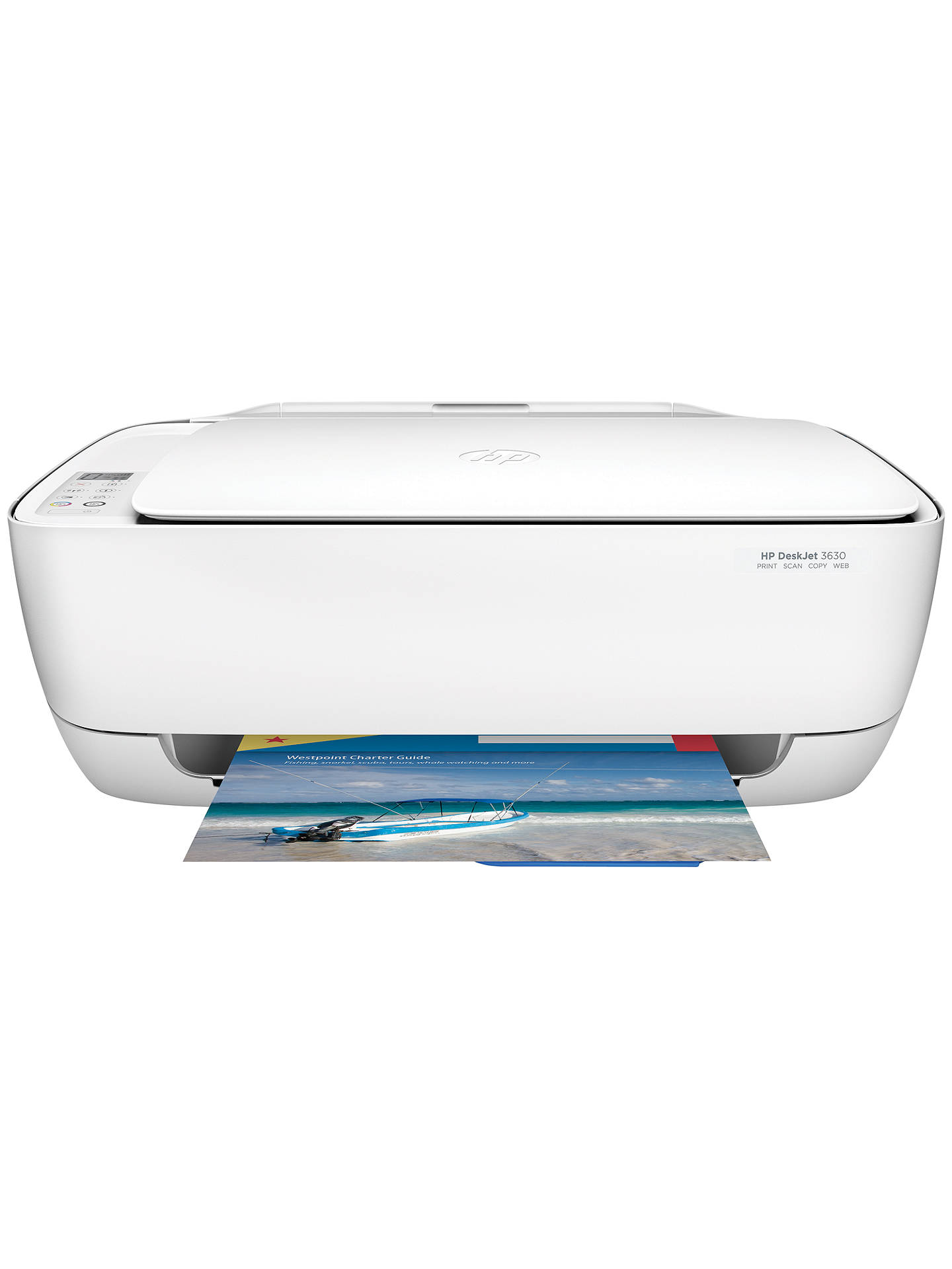 HP Deskjet 3630 All-In-One Wireless Printer, HP Instant Ink Compatible