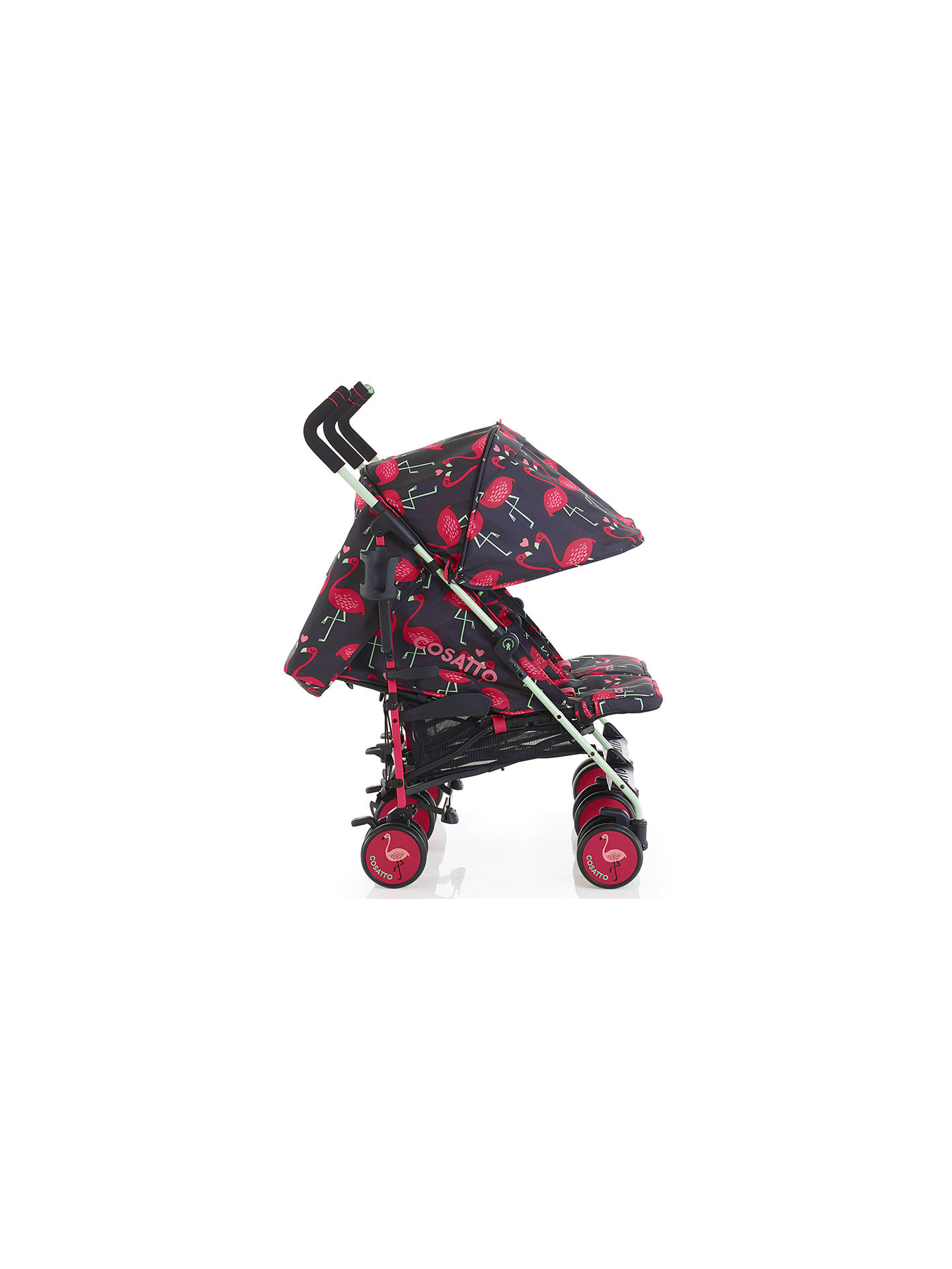 Buy Cosatto Supa Dupa Twin Pushchair, Flamingo Fling Online at johnlewis.com