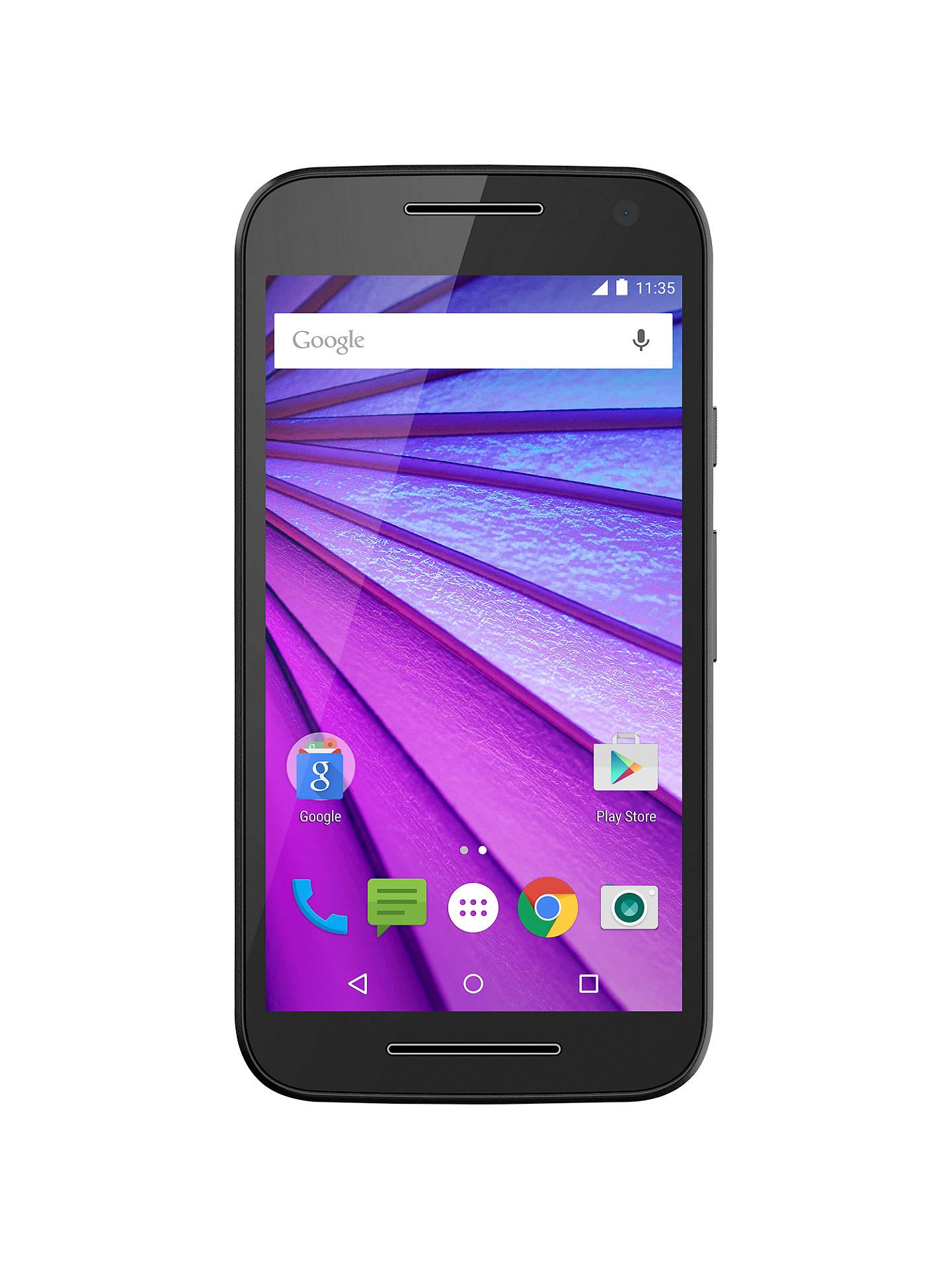 b699f8aca89 Motorola Moto G (3rd generation) Smartphone, Android, 5
