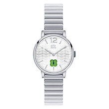 Buy Orla Kiely OK4003 Floral Stamp Dial Bracelet Strap Watch, Silver Online at johnlewis.com