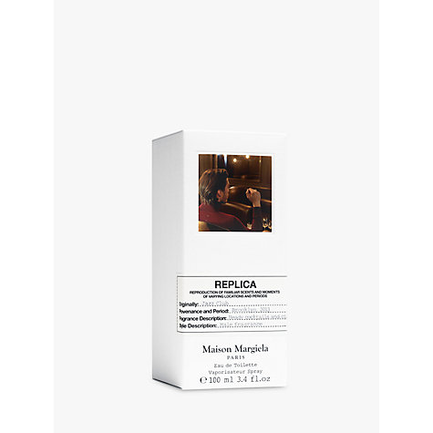 Buy Maison Margiela Replica Jazz Club Eau de Toilette, 100ml Online at johnlewis.com