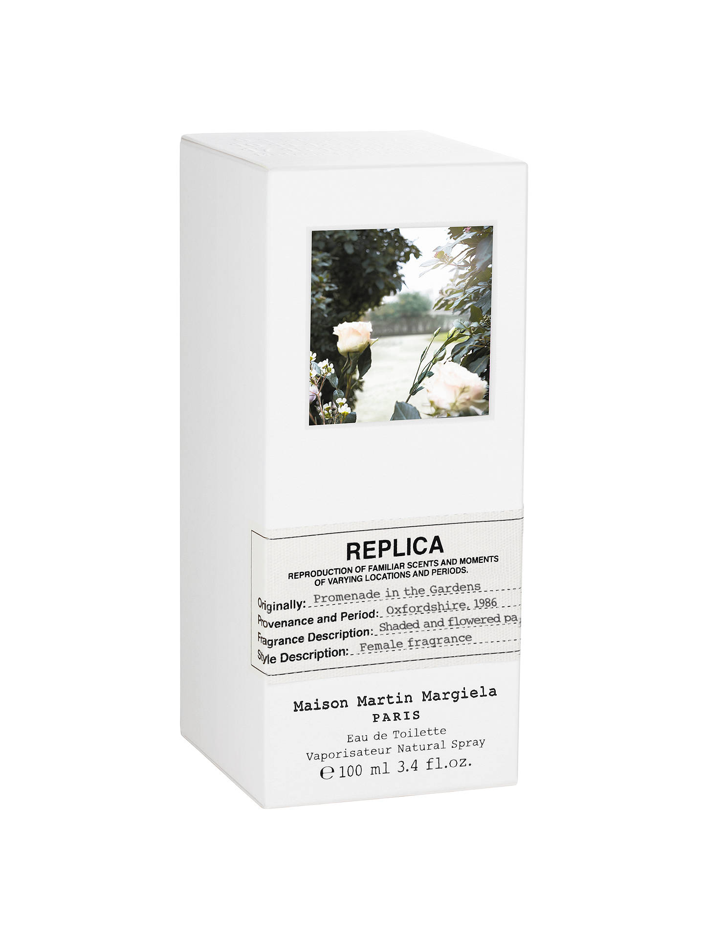 Buy Maison Margiela Replica Promenade In the Gardens Eau de Toilette, 100ml Online at johnlewis.com