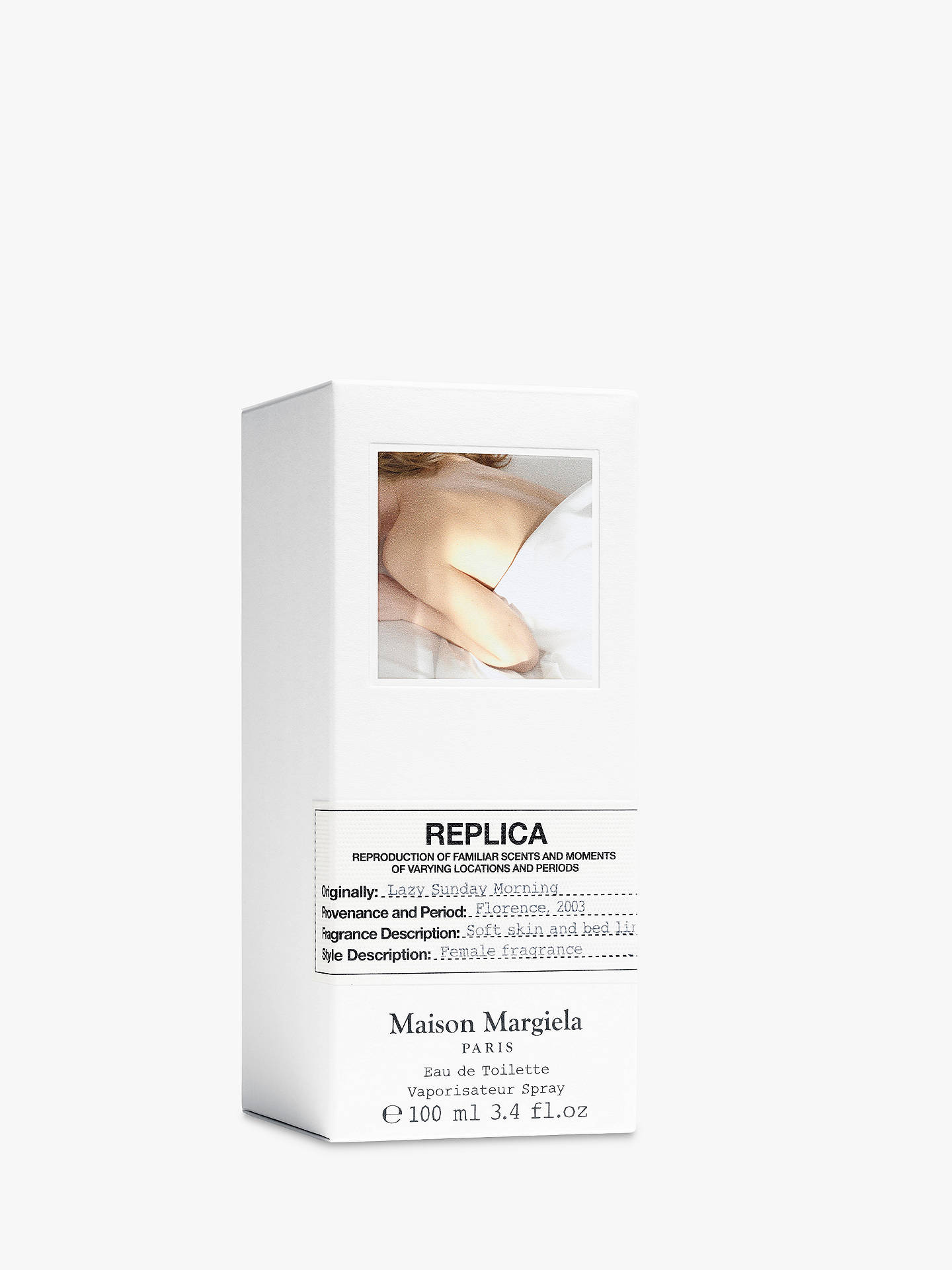 Buy Maison Margiela Replica Lazy Sunday Morning Eau de Toilette, 100ml Online at johnlewis.com