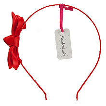 Buy Rockahula Satin Ruffle Bow Alice Band Online at johnlewis.com