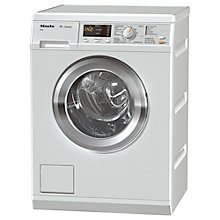 Buy Miele WDA111 Freestanding Washing Machine, 7kg Load, A+++ Energy Rating, 1400rpm Spin, White Online at johnlewis.com