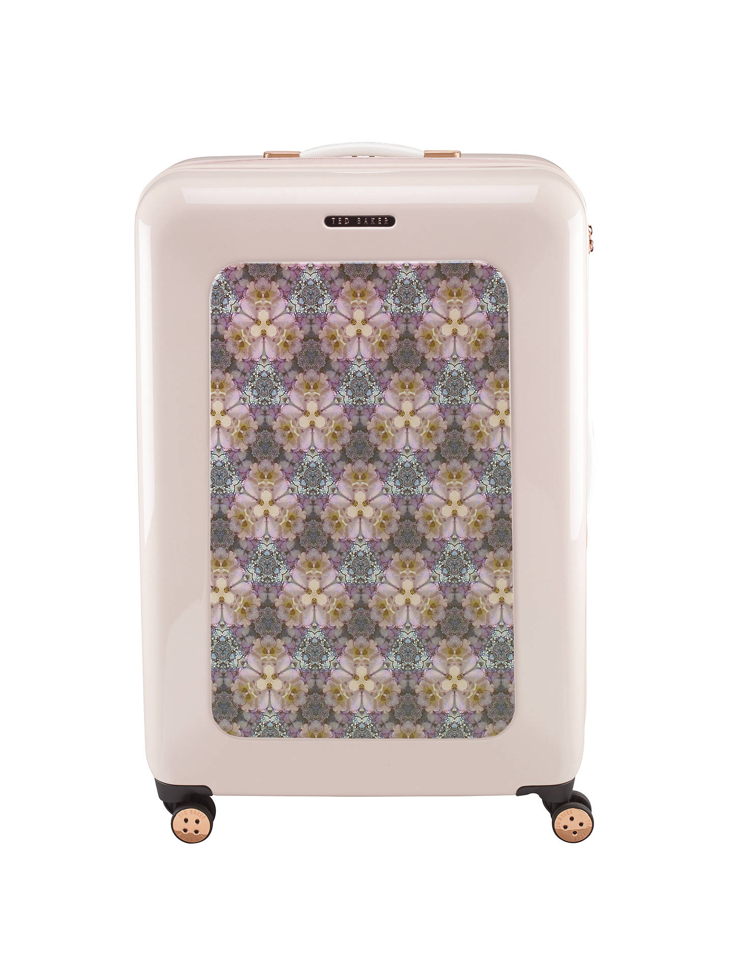 0f07a733dc915 ... Buy Ted Baker Geo Print 4-Wheel 79.5cm Large Suitcase