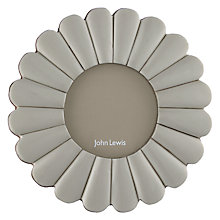 "Buy John Lewis Small Scalloped Photo Frame, 3 x 3"" Online at johnlewis.com"