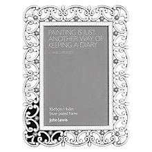 "Buy John Lewis Sophia Photo Frame, 4 x 6"" (10 x 15cm) Online at johnlewis.com"