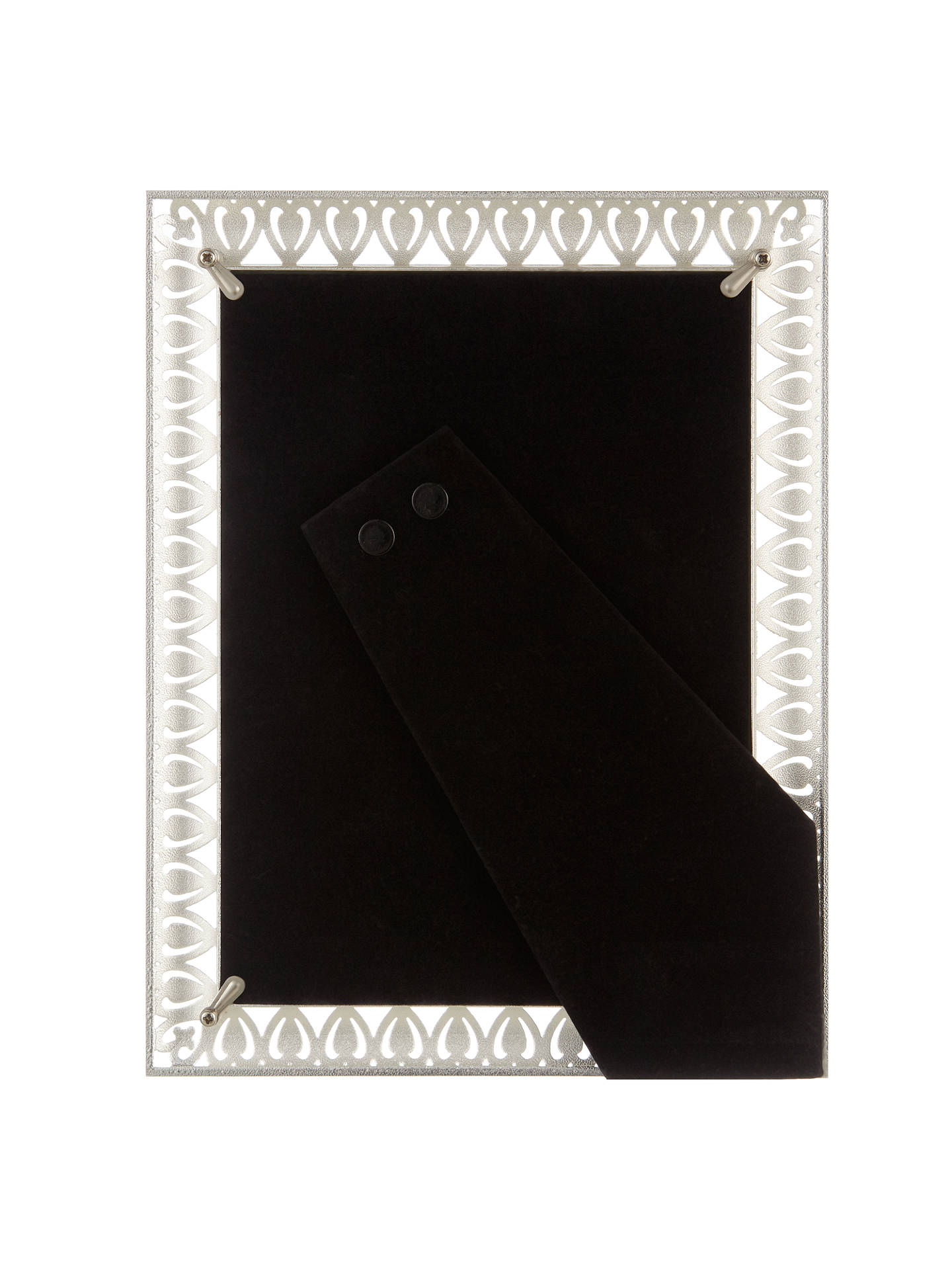"BuyJohn Lewis & Partners Belle Photo Frame, 5 x 7"" (13 x 18cm), Silver Online at johnlewis.com"