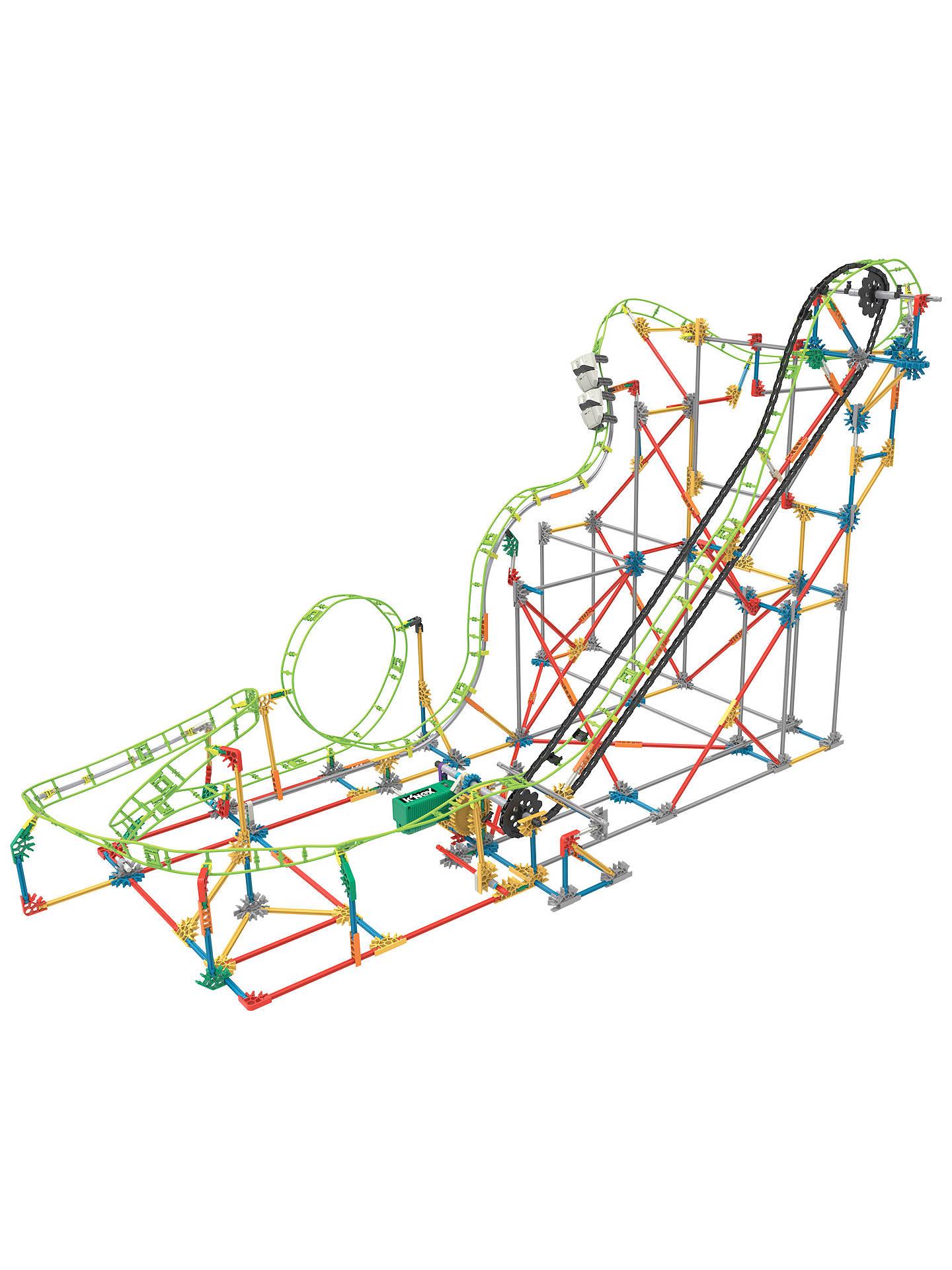 Knex Double Doom Roller Coaster Construction Set 891 Pieces At Velocity Diagram Free Download Wiring Buyknex Online Johnlewis