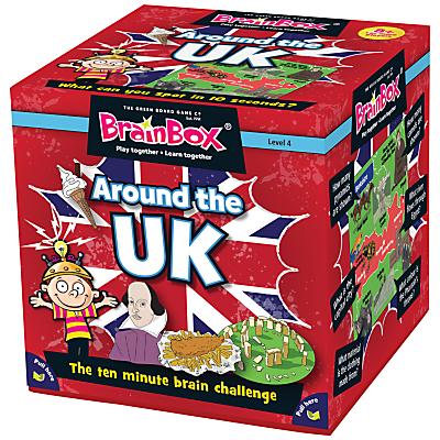Image of BrainBox Around The UK Card Game