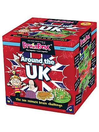 BrainBox Around The UK Challenge Game