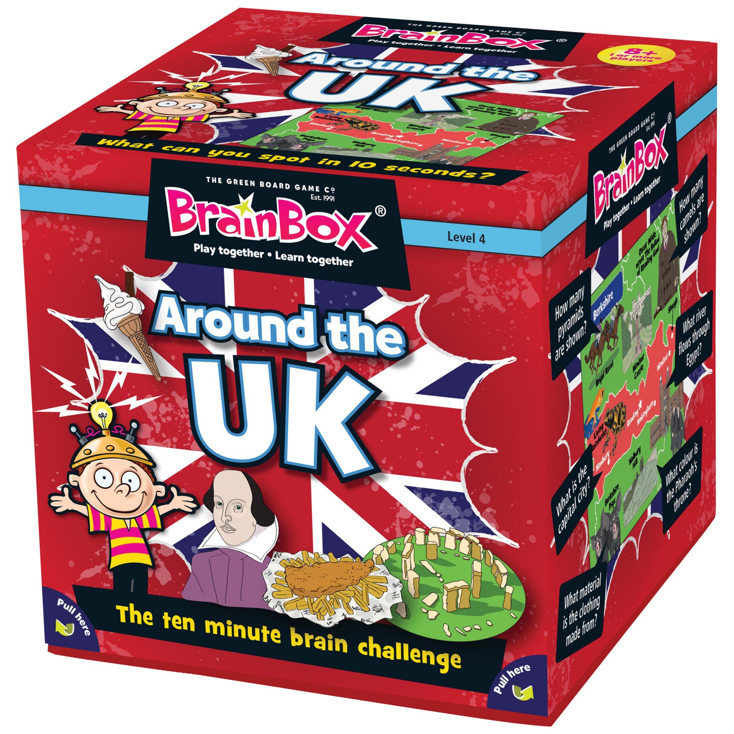 BrainBox BrainBox Around The UK Challenge Game