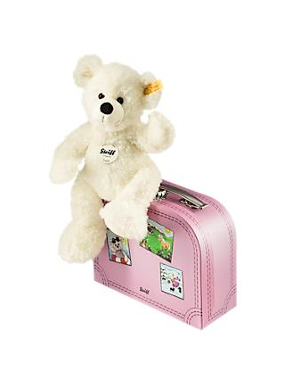 Steiff Lotte Teddy Bear in a Suitcase Soft Toy