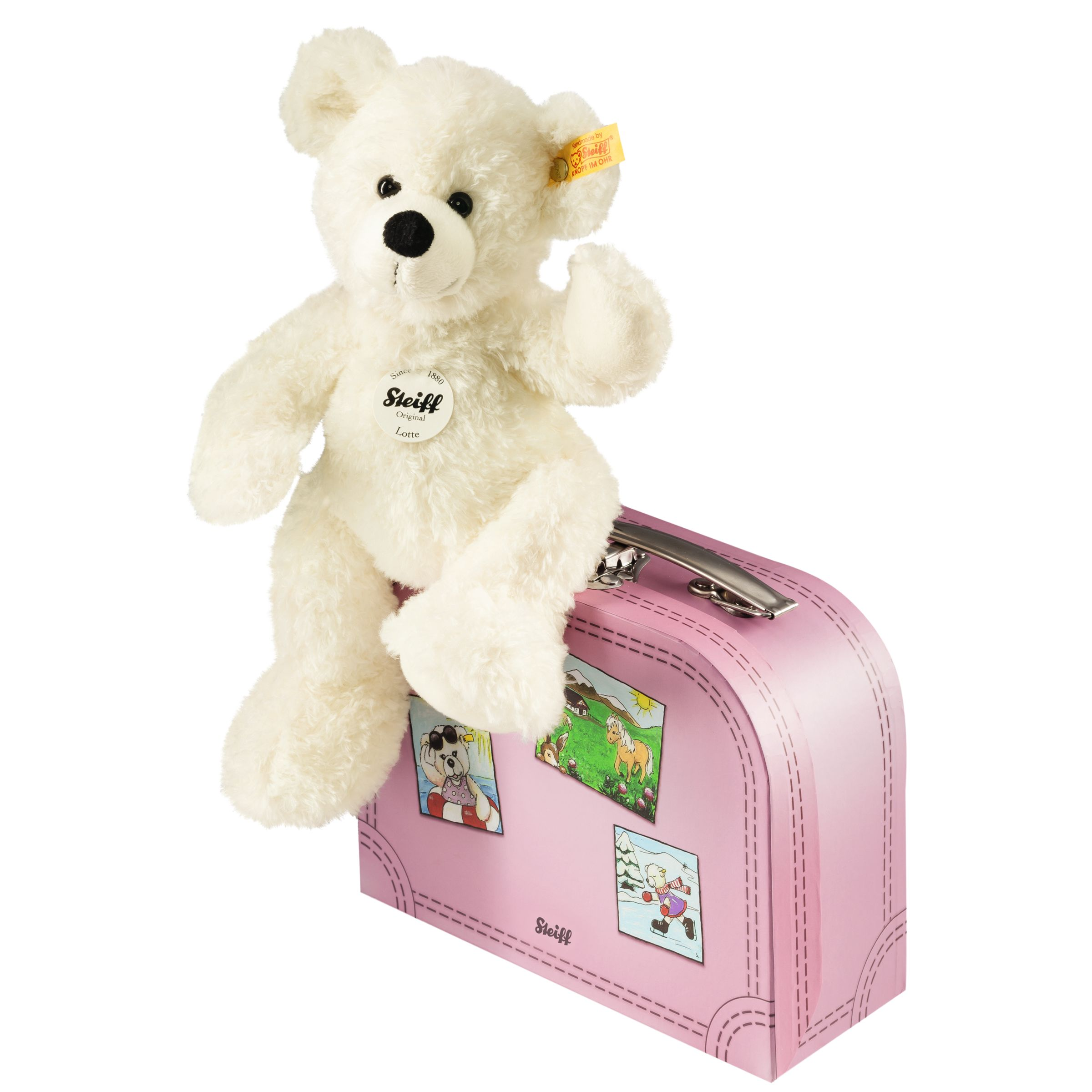 Steiff Steiff Lotte Teddy Bear in a Suitcase Soft Toy