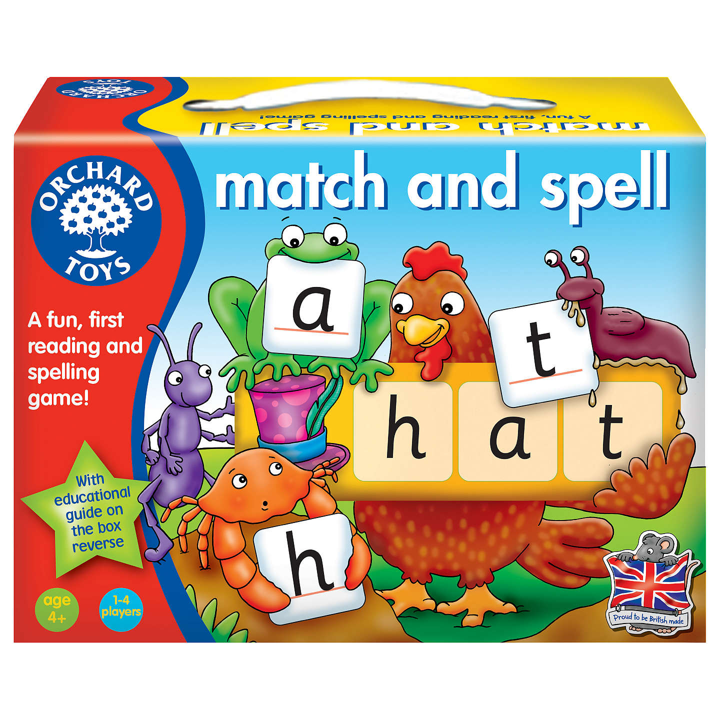 Educational Toys For 5 Year Olds : Orchard toys match spell game at john lewis