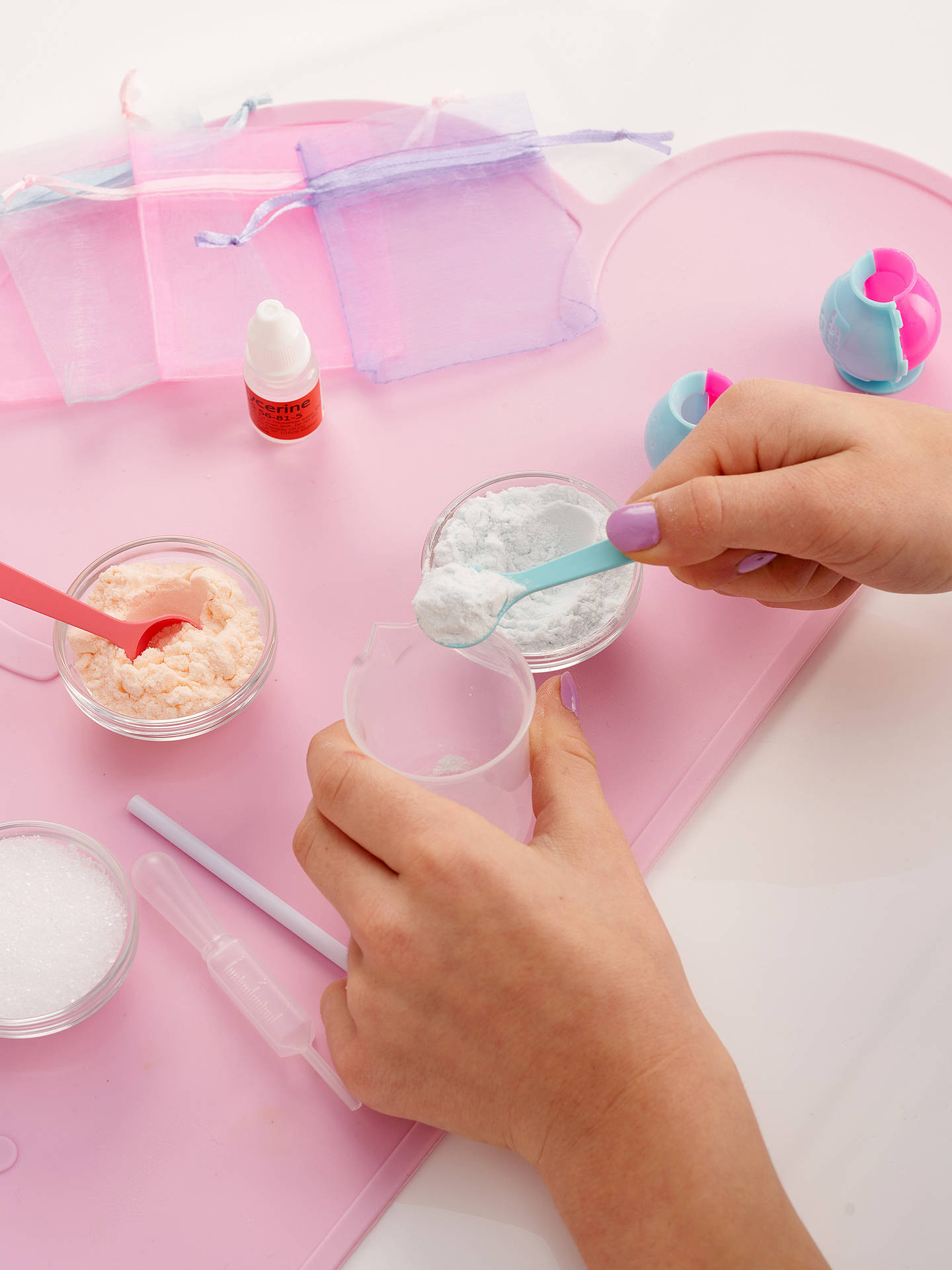 BuyFablab Make Your Own Bath Bombs Kit Online at johnlewis.com