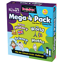 Buy BrainBox Key Stage 2 Mega Pack Game Online at johnlewis.com