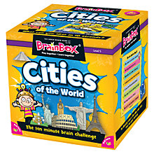 Buy BrainBox Cities Of The World Challenge Game Online at johnlewis.com