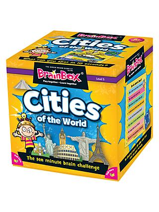 BrainBox Cities Of The World Challenge Game