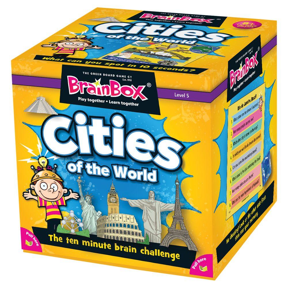 BrainBox BrainBox Cities Of The World Challenge Game