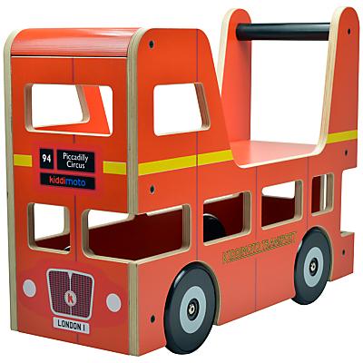 Kiddimoto London Bus Ride On Toy