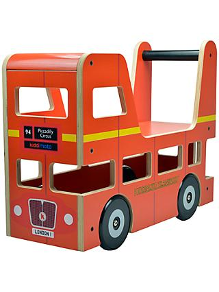 Kiddimoto London Bus Ride-On Toy