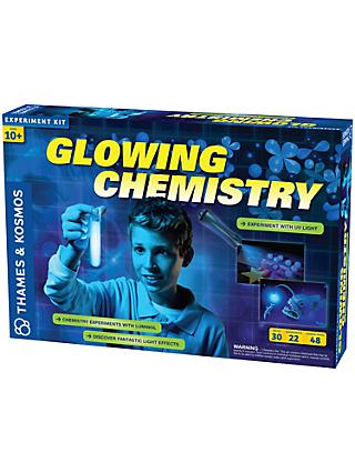 Thames and Kosmos Glowing Chemistry Experiment Kit
