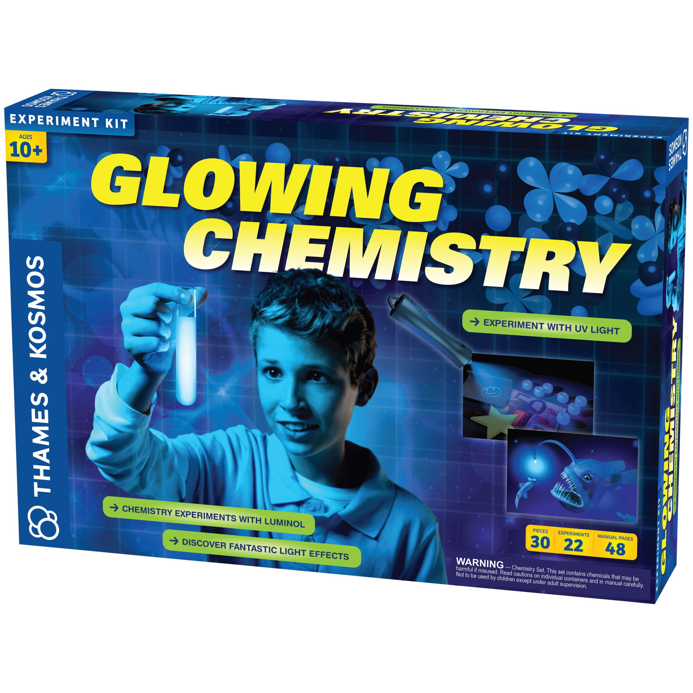 Thames & Kosmos Thames and Kosmos Glowing Chemistry Experiment Kit
