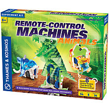 Buy Thames & Kosmos Remote Control Animal Machines Engineering Kit Online at johnlewis.com