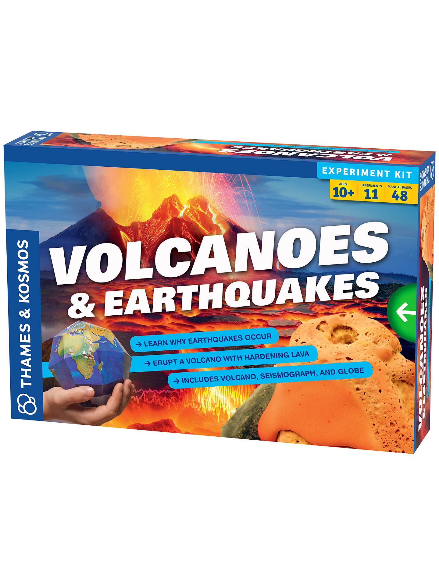 BuyThames & Kosmos Volcanoes and Earthquakes Science Kit Online at johnlewis.com
