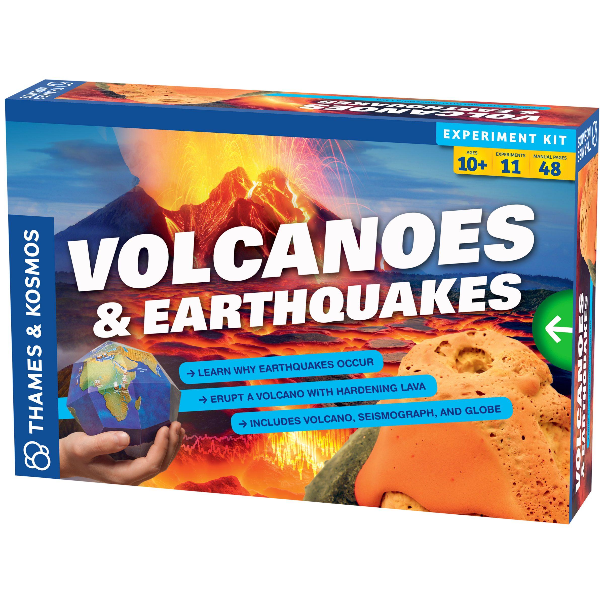 Thames & Kosmos Thames & Kosmos Volcanoes and Earthquakes Science Kit