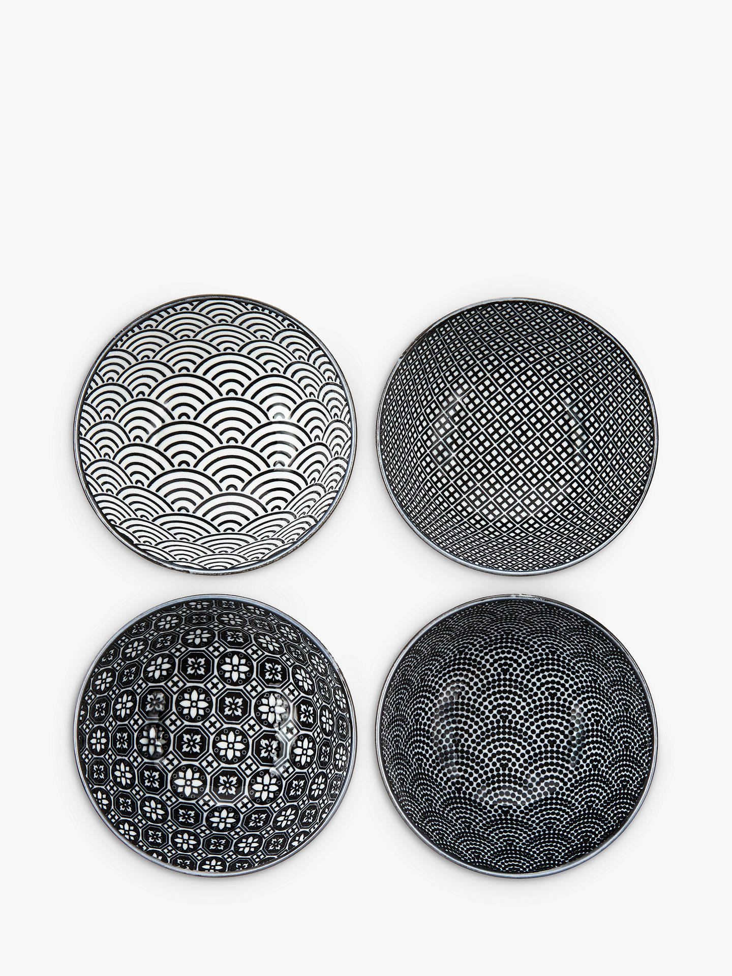 Tokyo Design Studio Small Bowls Mixed Set Of 4 Online At Johnlewis