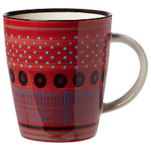 Buy west elm Potter's Workshop Seed Mug, Red Online at johnlewis.com