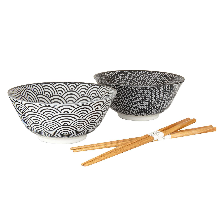 Tokyo Design Studio Bowl And Chopsticks Set Of 2 Online At Johnlewis