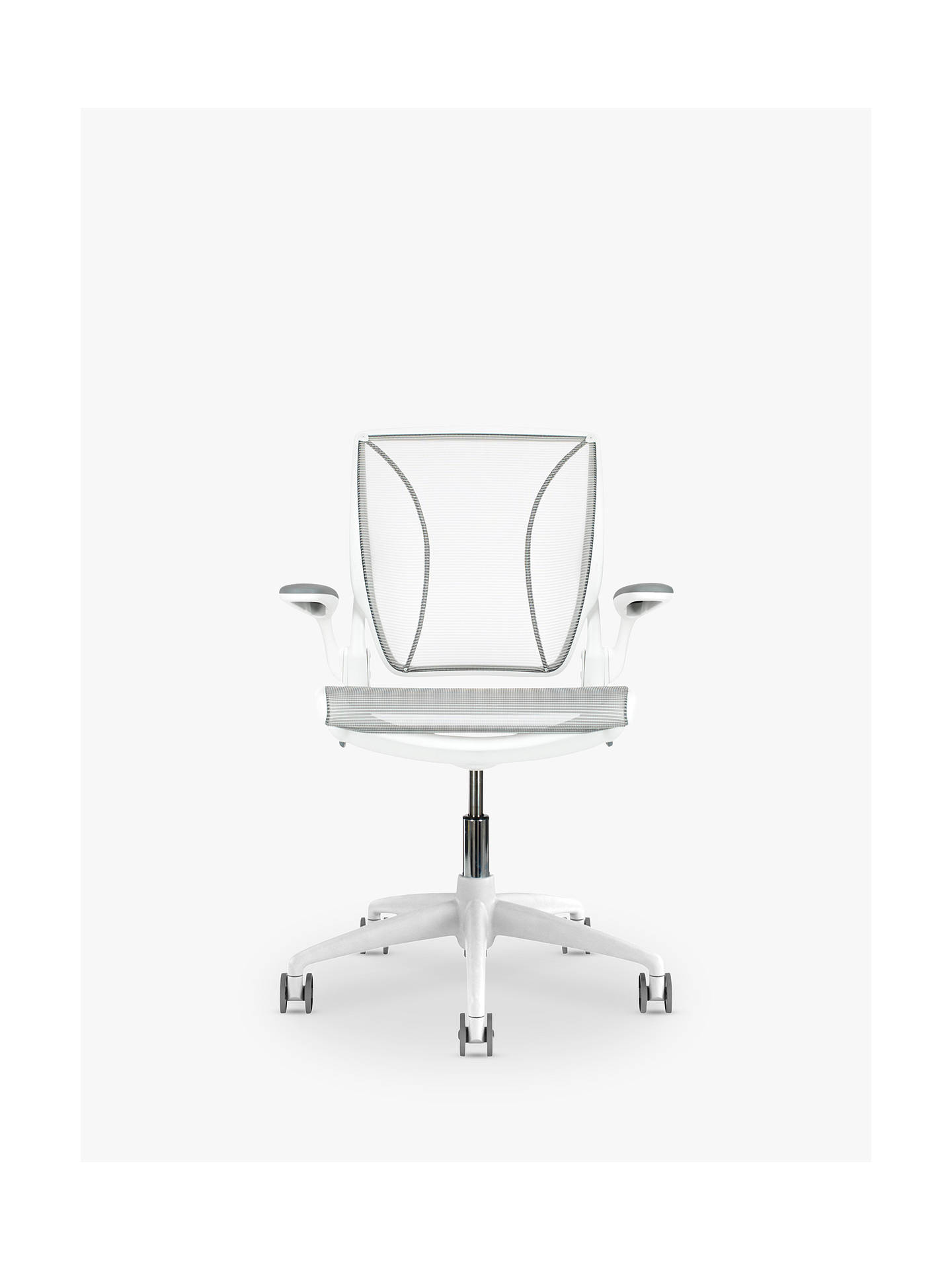 Humanscale diffrient world office chair white at john lewis partners for John lewis home design service reviews