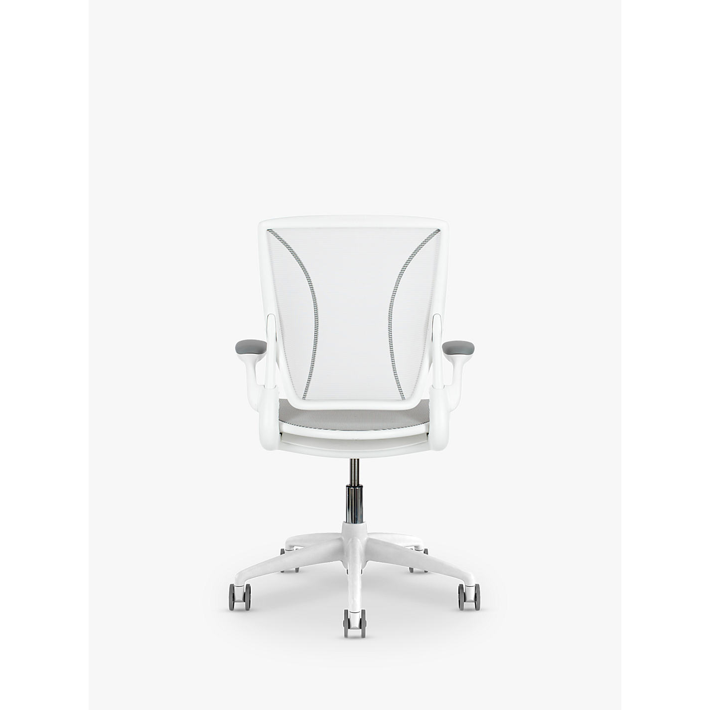 buy humanscale diffrient world office chair, white | john lewis
