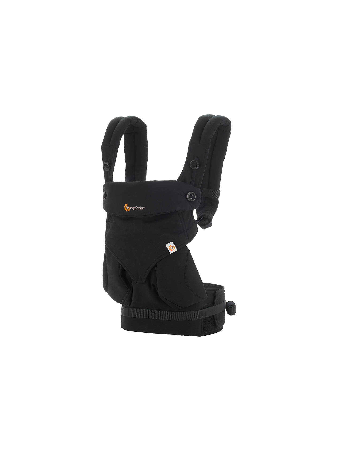 Buy Ergobaby Four Position 360 Baby Carrier, Pure Black Online at johnlewis.com