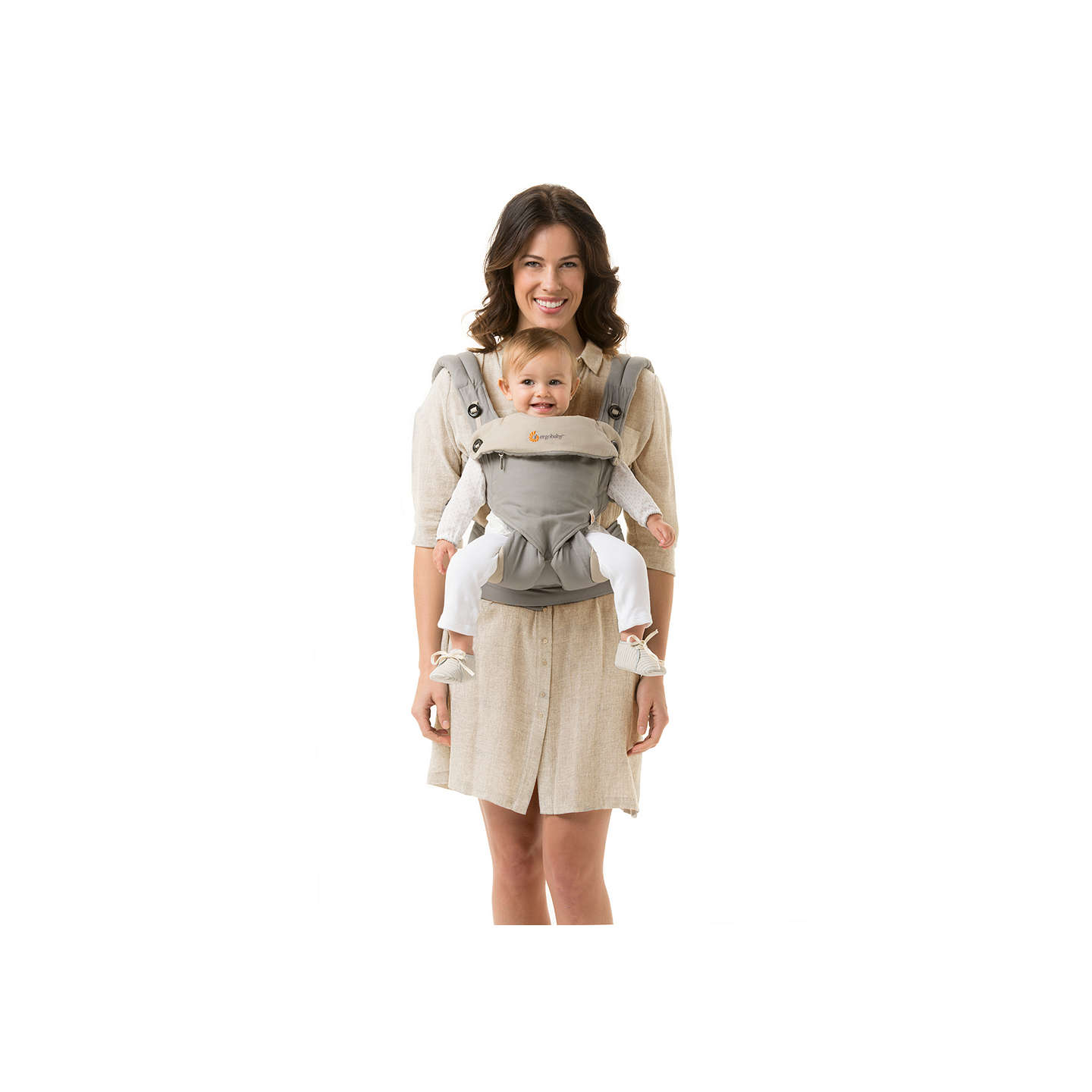 BuyErgobaby 360 Bundle of Joy Baby Carrier With Insert, Grey Online at johnlewis.com